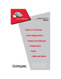 Lexmark Optra C