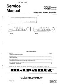 Marantz 74PM47