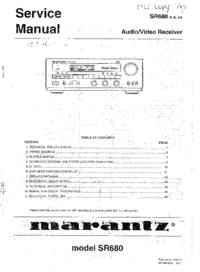 Marantz SR680