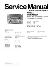 Mazda CR-LM8160K
