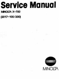 Minolta X-700 (2017-100)