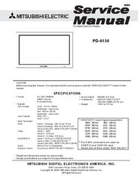 Mitsubishi PD-6150