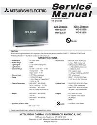 Mitsubishi WD-52528