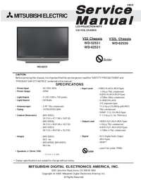Mitsubishi WD-62530