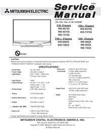 Mitsubishi WD-60735