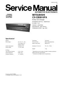 Mitsubishi CX-CB0910FA