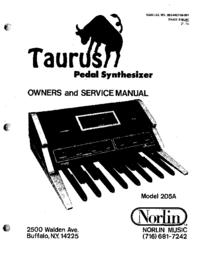 Moog Taurus 205A