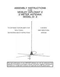 Mosley DIPLOMAT 2