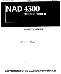 NAD 4300