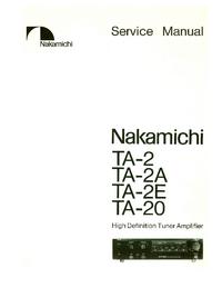 Nakamichi TA-2