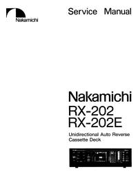 Nakamichi RX-202E