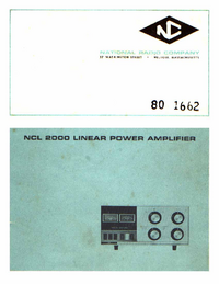 National NCL 2000