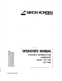 NihonKoden TEC-7200