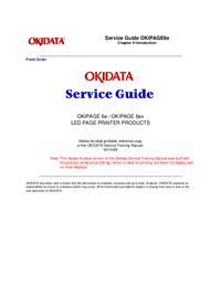 Okidata OKIPAGE 6ex