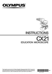 Olympus CX21