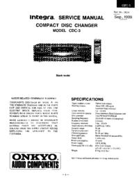 Onkyo CDC-3