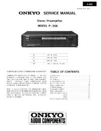 Onkyo P-308
