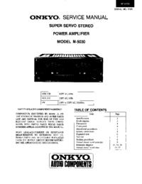 Onkyo M-5030
