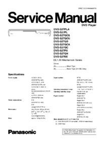 Panasonic DVD-S27GCA
