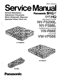 Panasonic VW-R88E