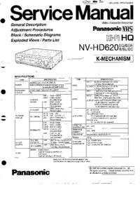 Panasonic NV-HD620