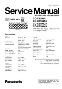 Panasonic CQ-C3100GN