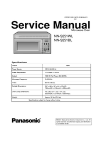 Panasonic NN-S251BL