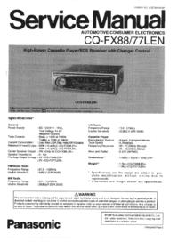 Panasonic CQ-FX88