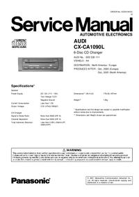Panasonic CX-CA1090L