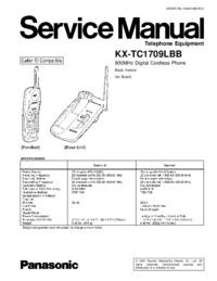 Panasonic KX-TC1709LBB