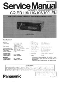 Panasonic CQ-RD105