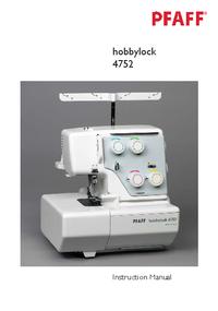 Pfaff hobbylock 4752