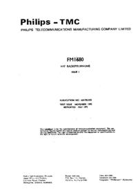 Philips FM 1680