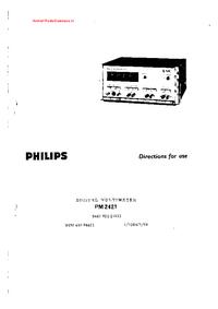 Philips PM 2421
