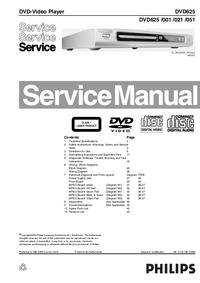 Philips DVD625 051