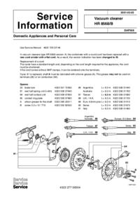 Philips HR 8568/B