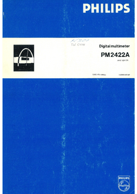 Philips PM2422A