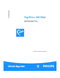 PhilipsMedical PageWriter 300pi M1771A