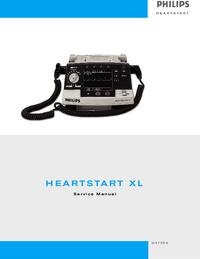 PhilipsMedical M4735A HeartStart XL