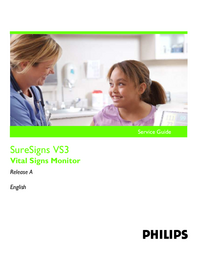 PhilipsMedical SureSigns VS3