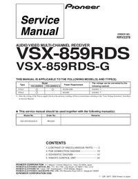 Pioneer VSX-859RDS