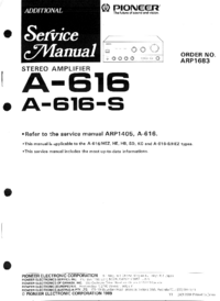 Pioneer A-616-S