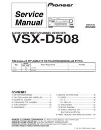 Pioneer VSX-D508