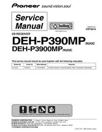 Pioneer DEH-P3900MP