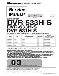 Pioneer DVR-633H-S