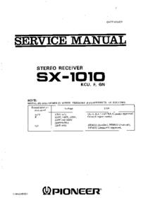 Pioneer SX -1010