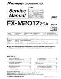 Pioneer FX-M2017ZSA