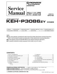 Pioneer KEH-P3086ZY X1INES