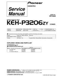 Pioneer KEH-P3206ZY