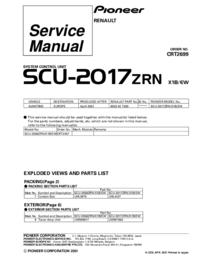 Pioneer SCU-2017ZRN
